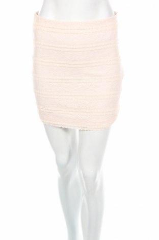 Пола H&M Divided, Размер S, Цвят Розов, 98% полиамид, 2% еластан, Цена 4,73лв.