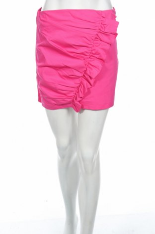 Пола Reserved, Размер XS, Цвят Розов, 97% памук, 3% еластан, Цена 8,00лв.