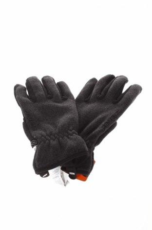Mănuși Ziener, Culoare Gri, Poliester, Preț 64,66 Lei