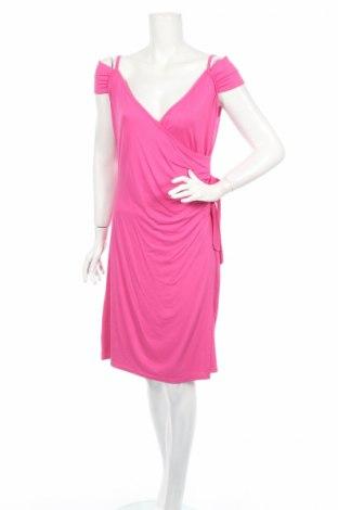 Рокля Quinze Heures Trente, Размер M, Цвят Розов, 92% вискоза, 8% еластан, Цена 9,45лв.