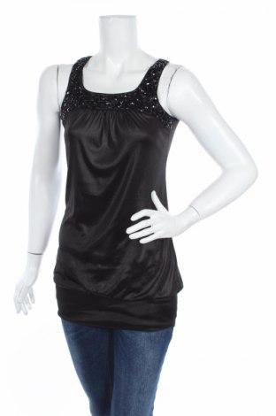 Туника L-C Fashion, Размер M, Цвят Черен, Цена 4,54лв.