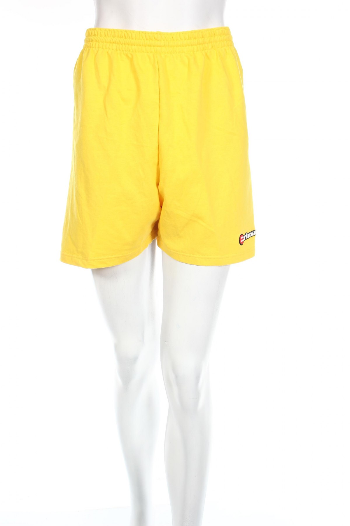 Дамски къс панталон Erima, Размер L, Цвят Жълт, 70% памук, 30% полиестер, Цена 3,06лв.