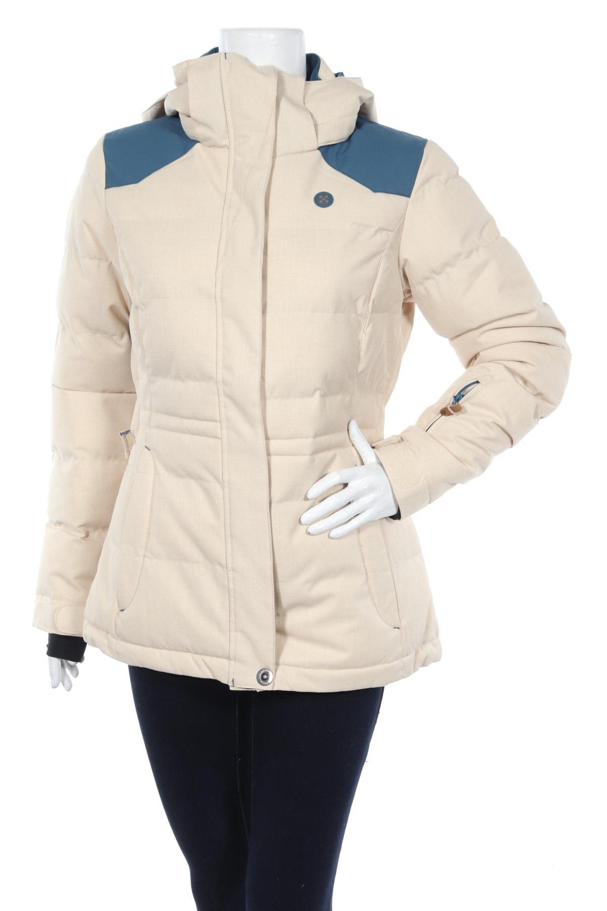 Дамско яке за зимни спортове Oxbow, Размер M, Цвят Бежов, Полиестер, Цена 132,00лв.