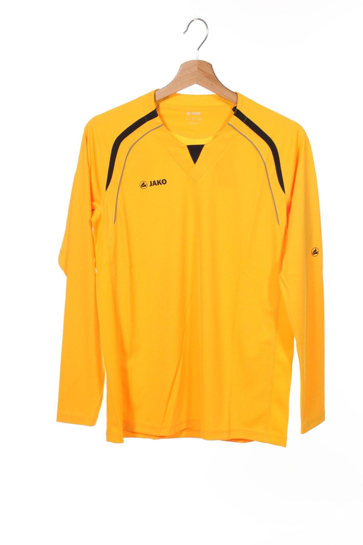 Детска спортна блуза Jako, Размер 15-18y/ 170-176 см, Цвят Жълт, Полиестер, Цена 3,84лв.