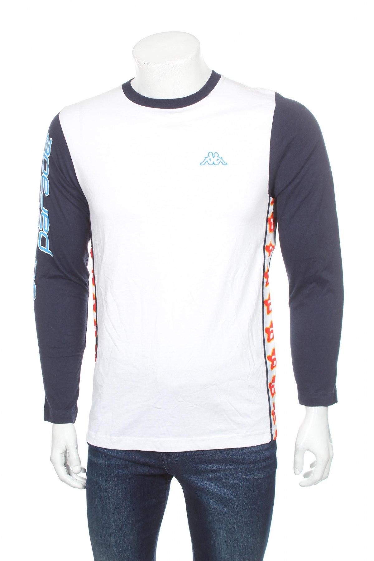 Мъжка спортна блуза Kappa, Размер S, Цвят Многоцветен, Памук, Цена 17,15лв.