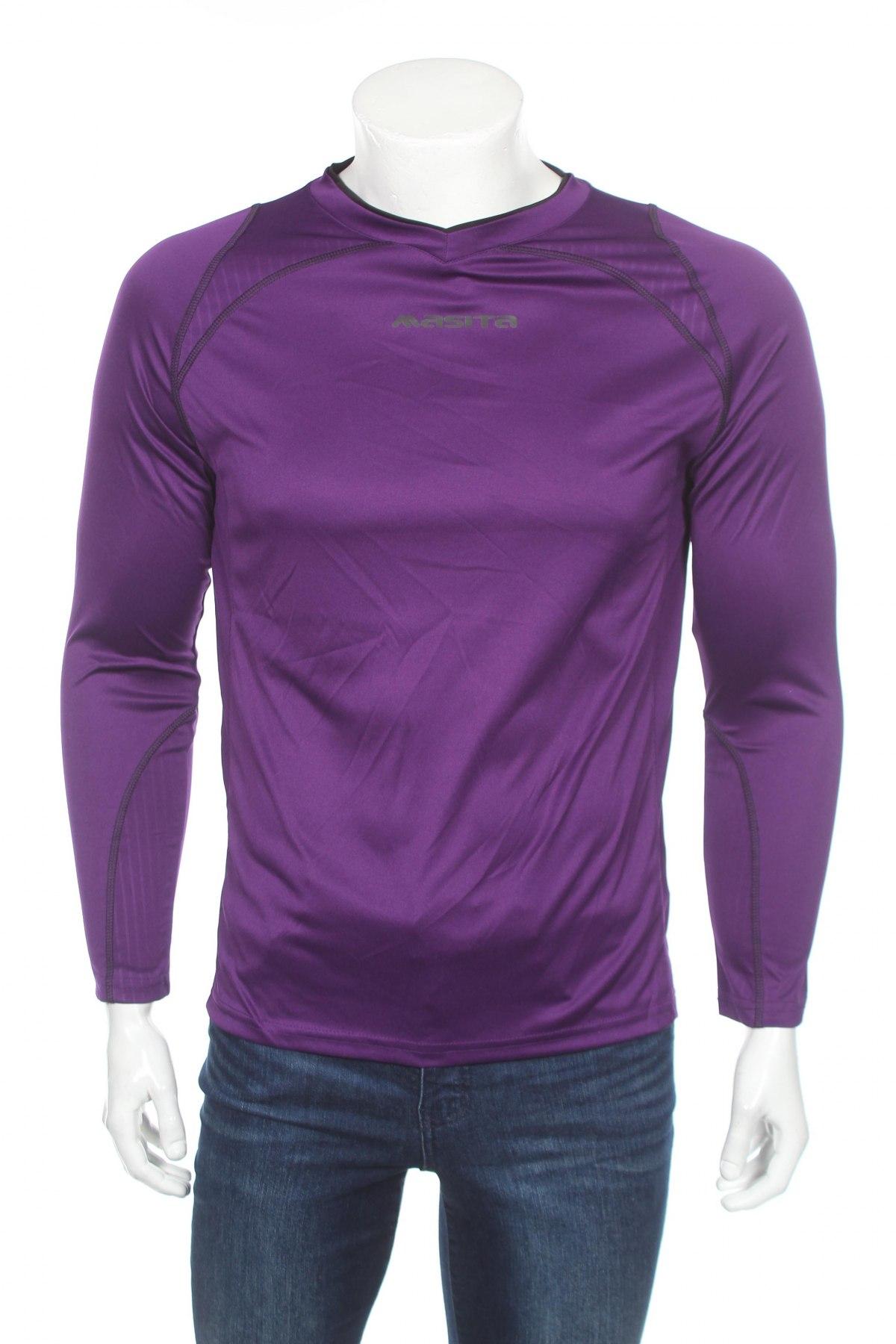 Мъжка спортна блуза Masita, Размер S, Цвят Лилав, Полиестер, Цена 13,80лв.
