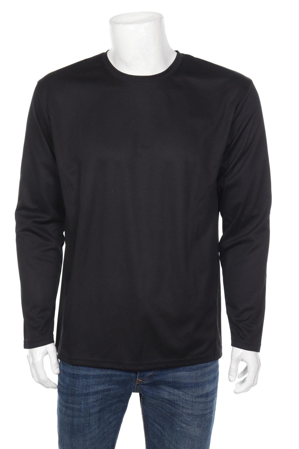 Мъжка спортна блуза Spiro, Размер XL, Цвят Черен, Полиестер, Цена 14,70лв.