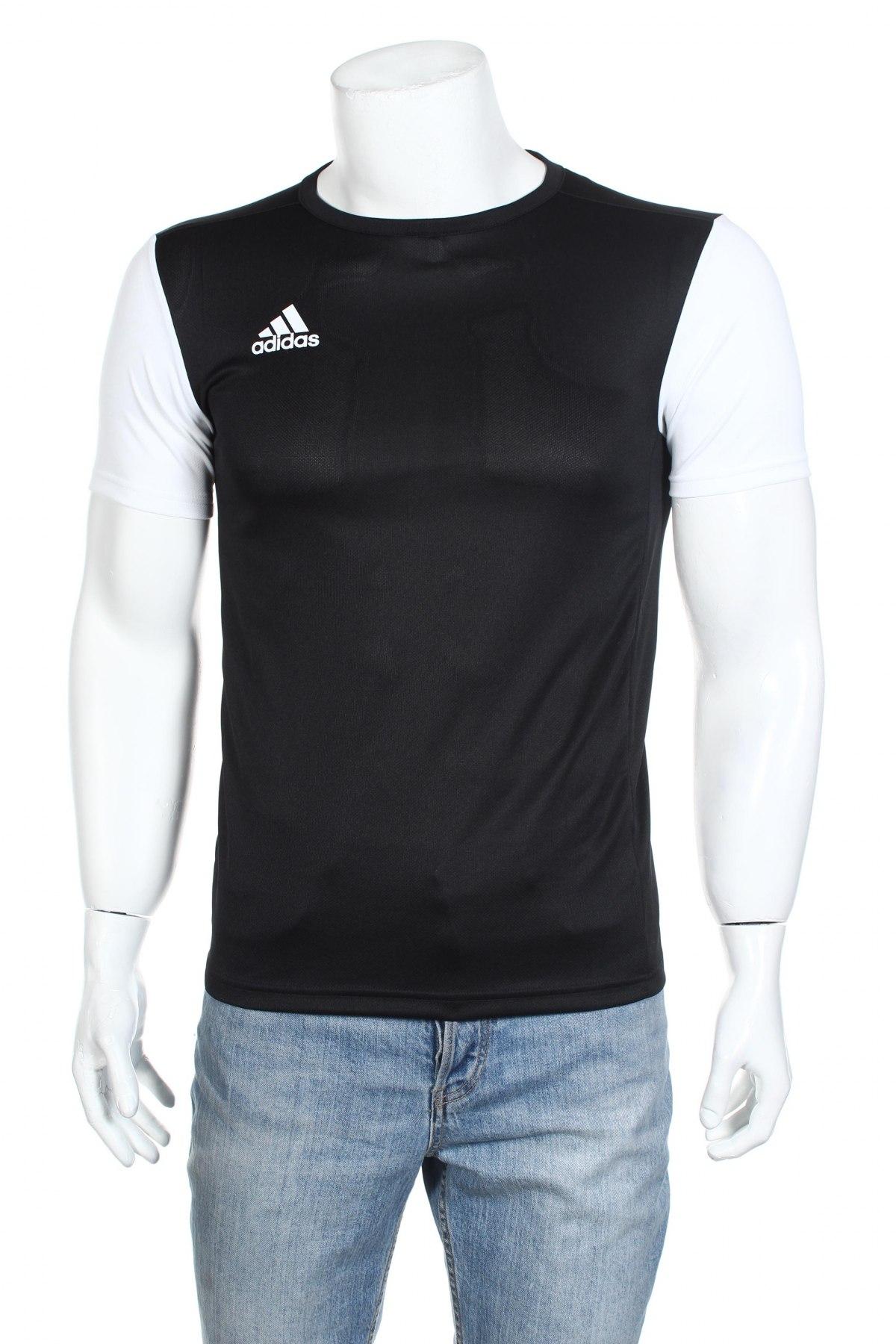 Мъжка тениска Adidas, Размер XS, Цвят Черен, Полиестер, Цена 18,60лв.