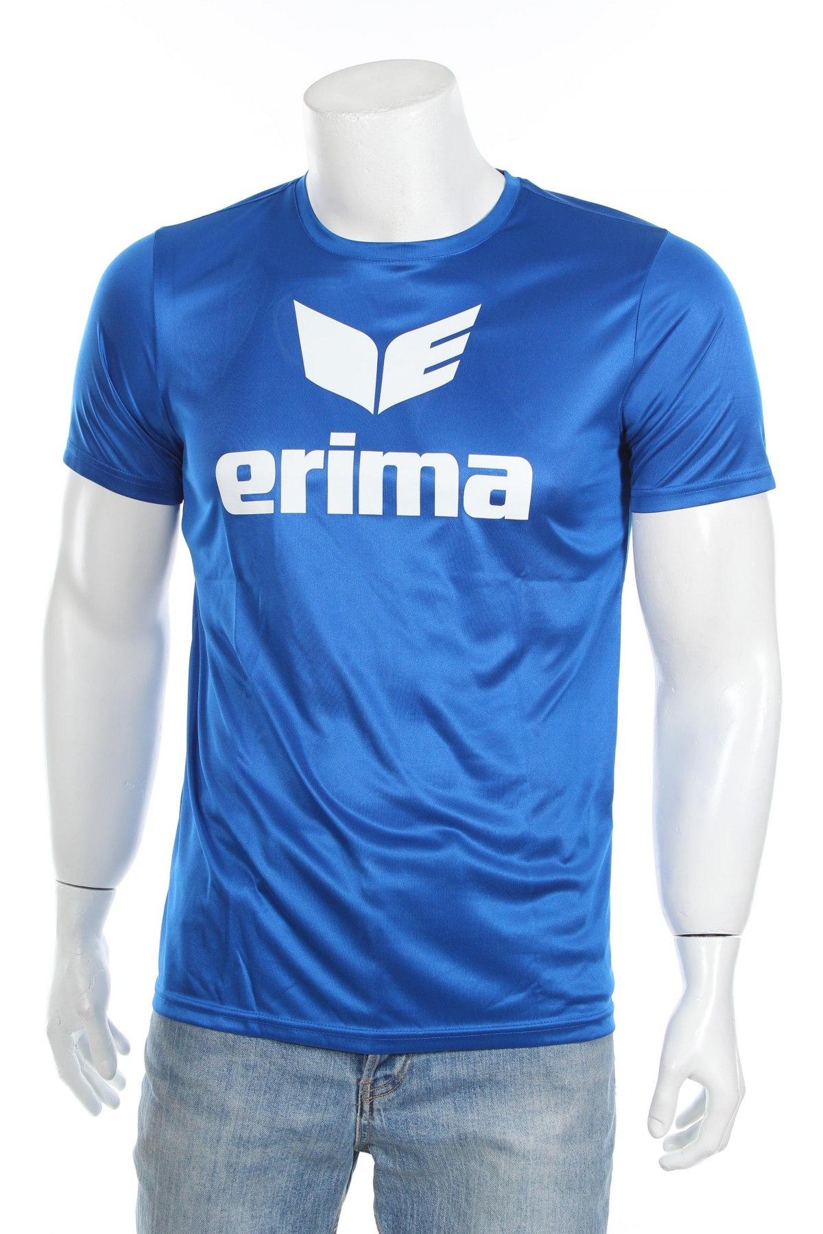 Мъжка тениска Erima, Размер S, Цвят Син, Полиестер, Цена 11,20лв.