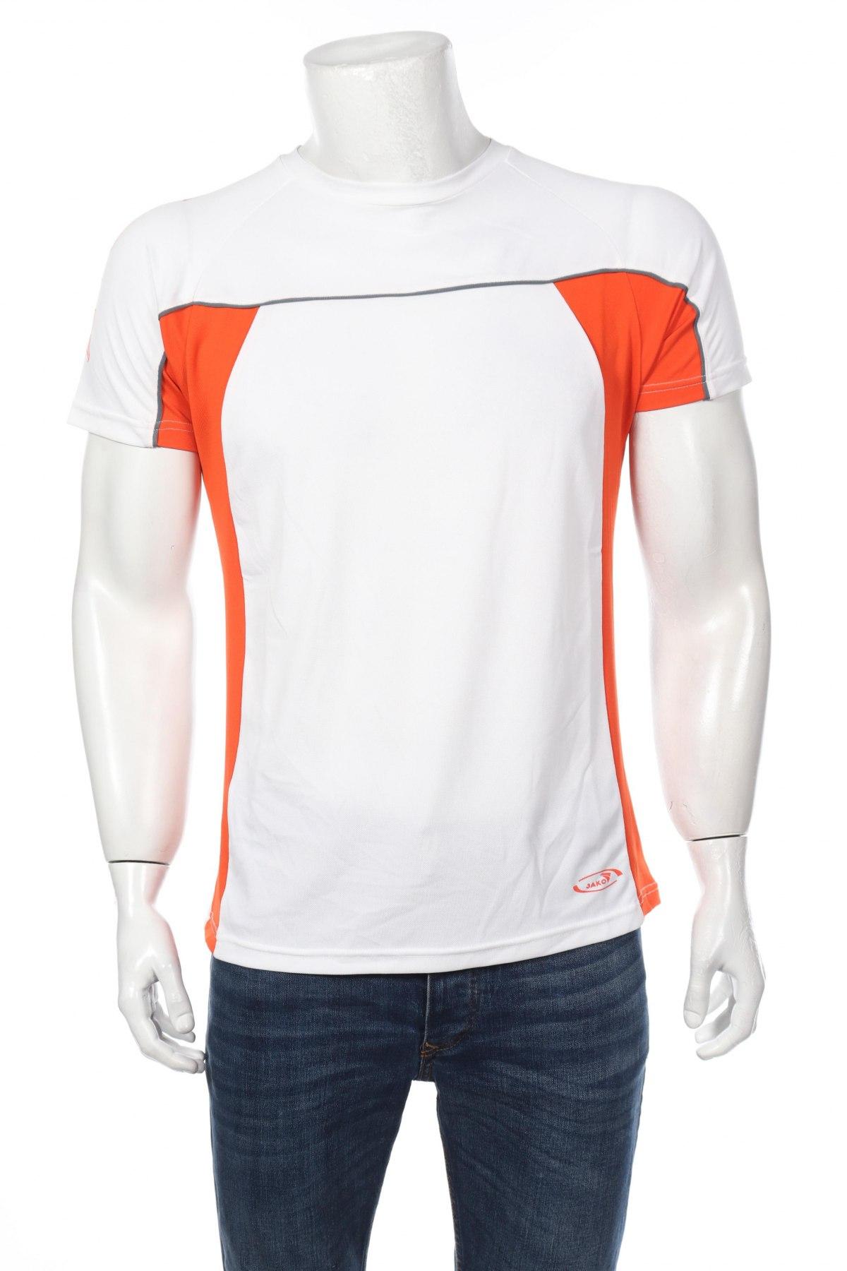 Мъжка тениска Jako, Размер XL, Цвят Бял, 95% полиестер, 5% еластан, Цена 15,60лв.