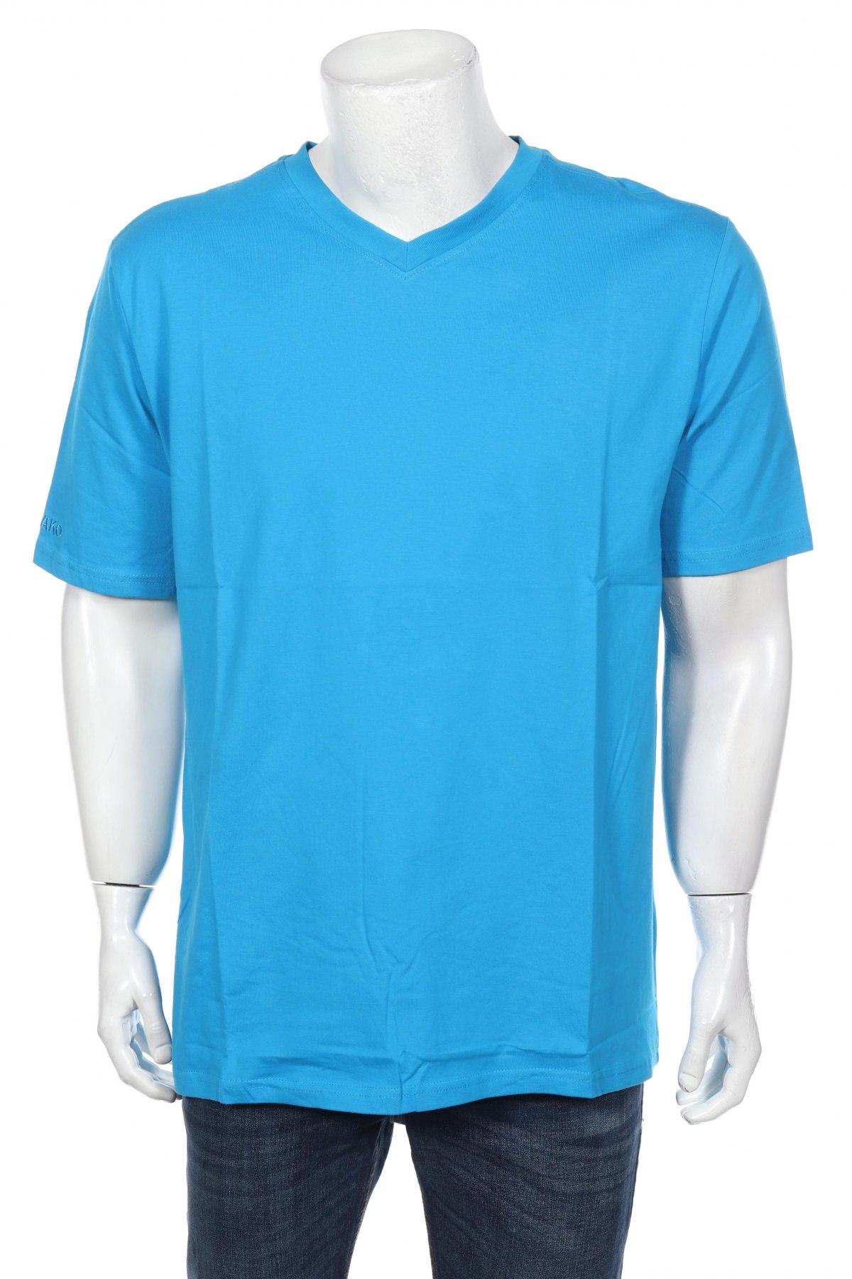 Мъжка тениска Jako, Размер XL, Цвят Син, Памук, Цена 11,20лв.