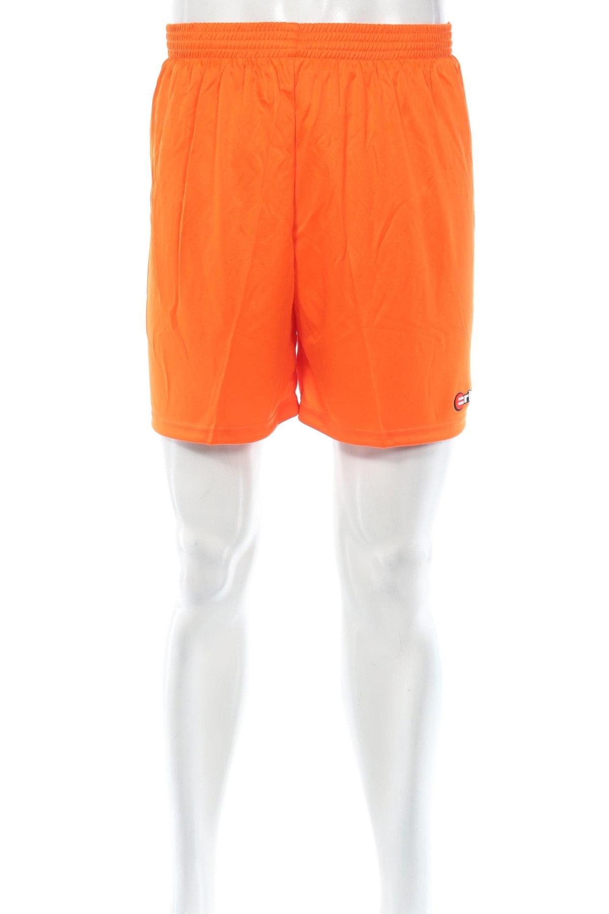 Мъжки къс панталон Erima, Размер L, Цвят Оранжев, Полиестер, Цена 11,70лв.