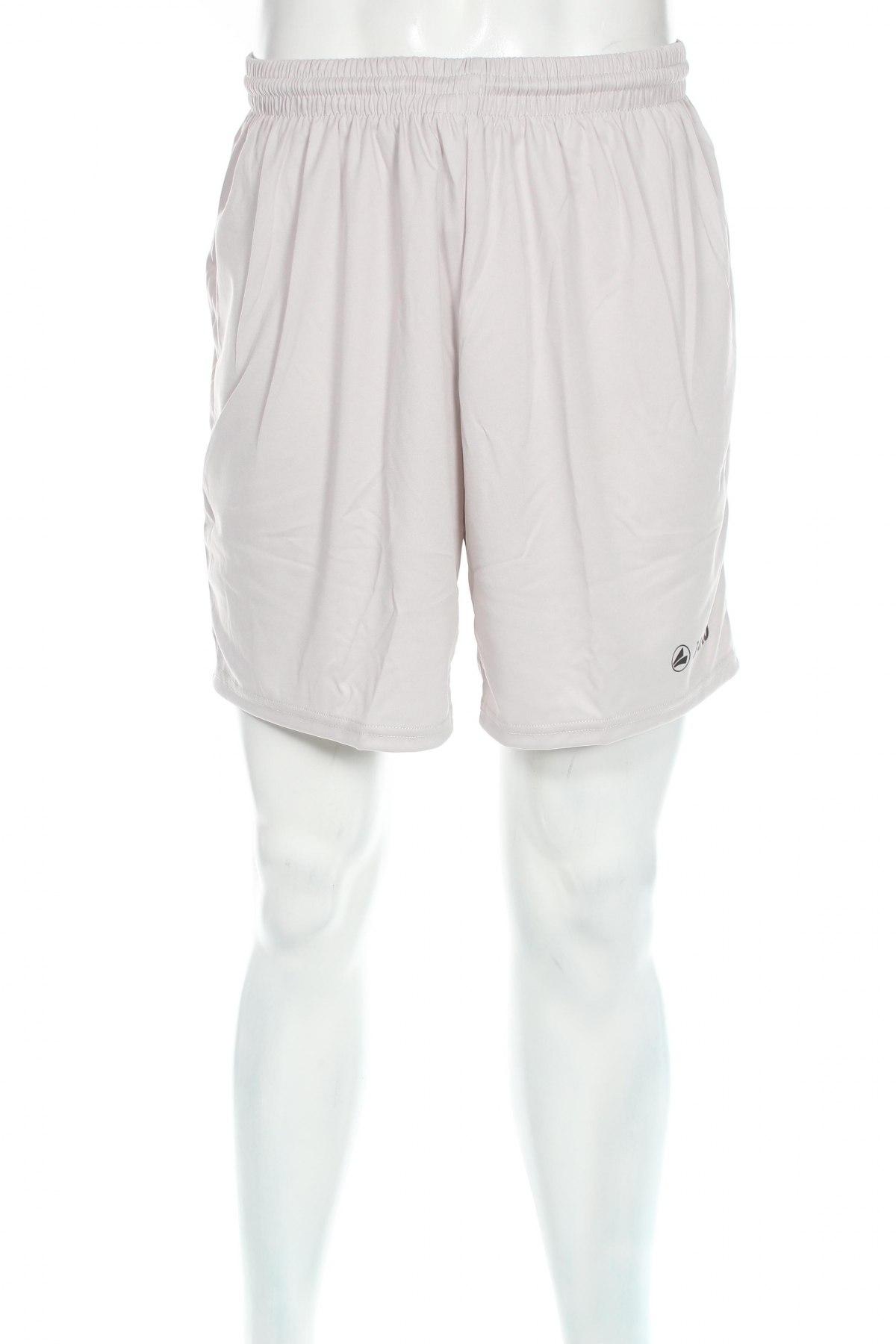 Мъжки къс панталон Jako, Размер L, Цвят Сив, Полиестер, Цена 11,70лв.