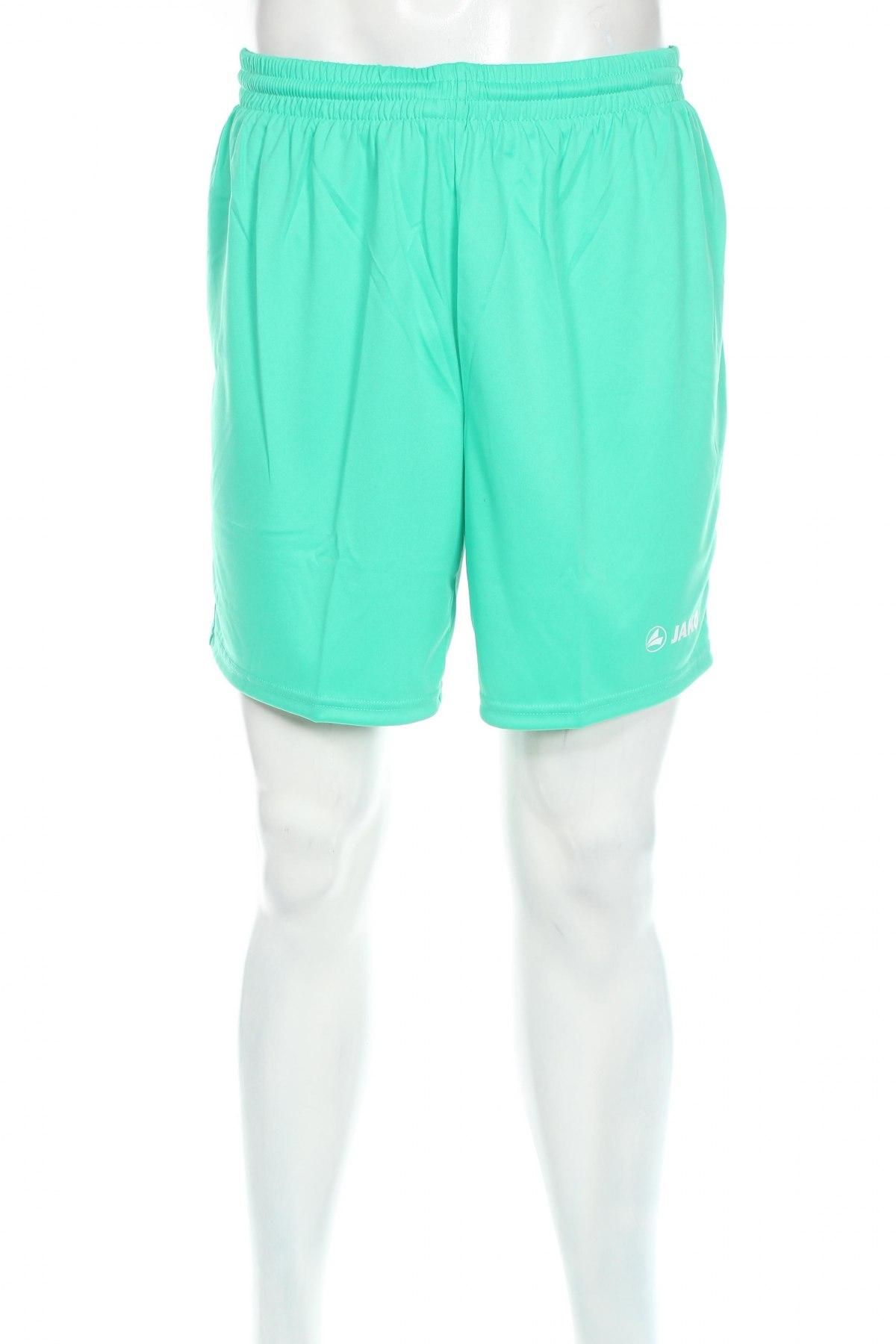 Мъжки къс панталон Jako, Размер L, Цвят Зелен, Полиестер, Цена 11,70лв.