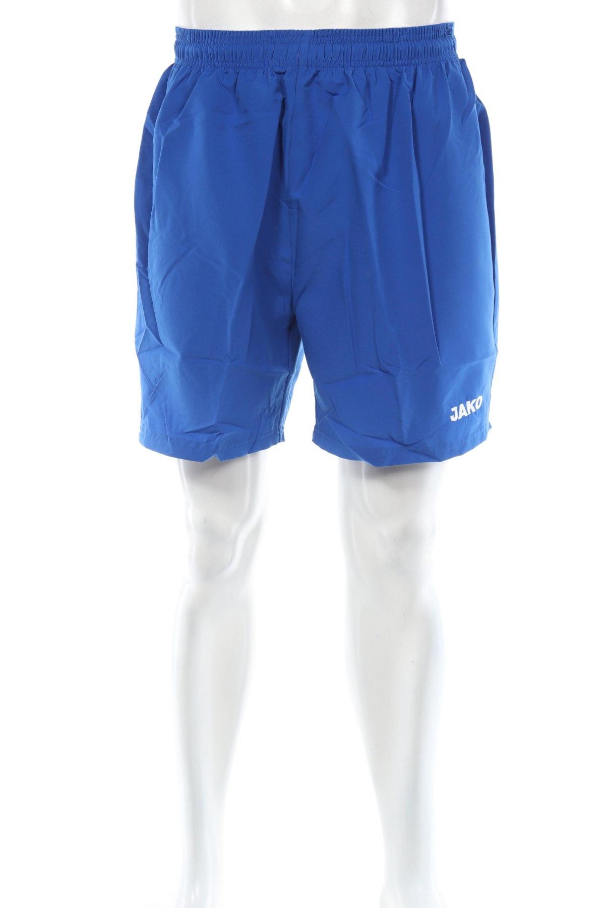 Мъжки къс панталон Jako, Размер L, Цвят Син, Полиестер, Цена 29,25лв.