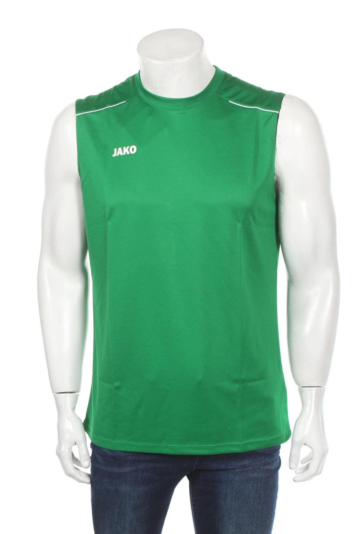 Мъжки потник Jako, Размер L, Цвят Зелен, Полиестер, Цена 21,00лв.