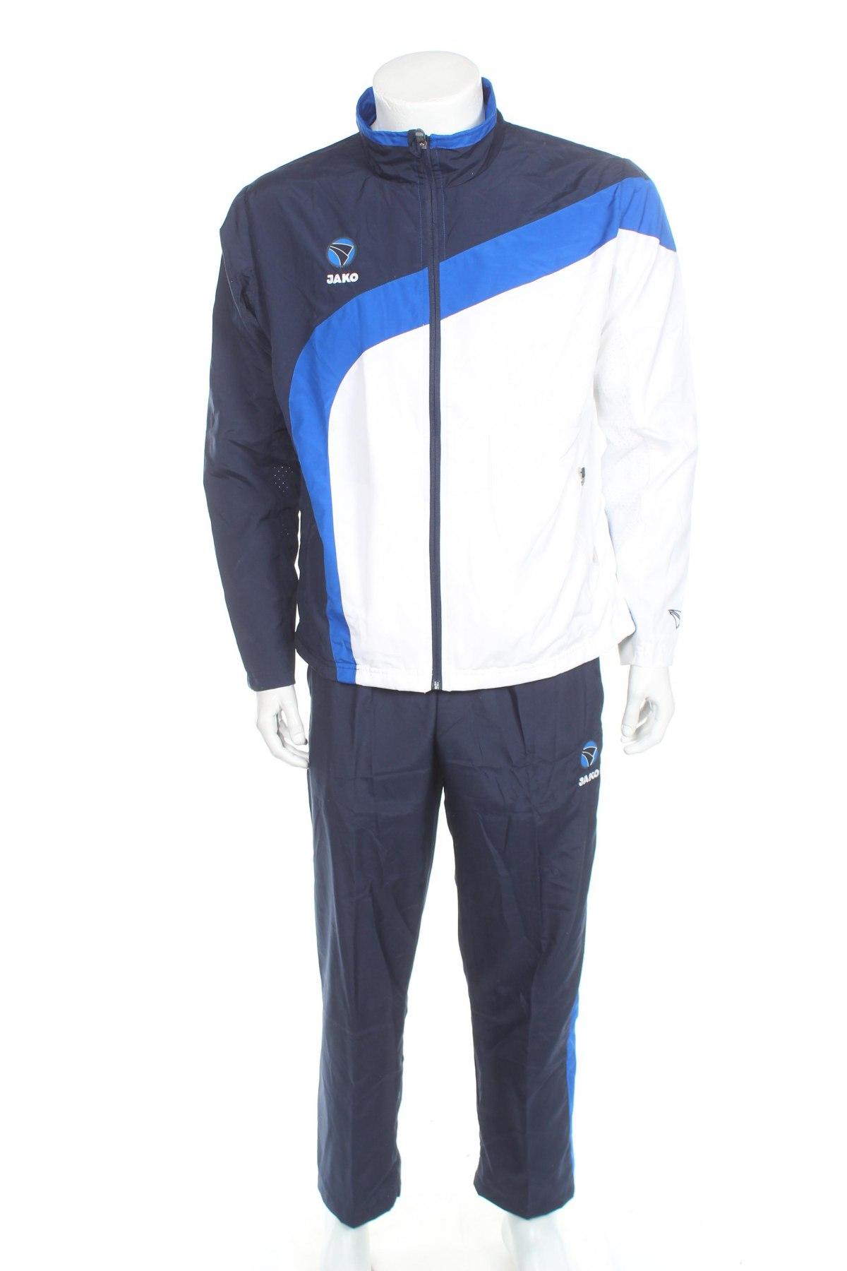 Мъжки спортен комплект Jako, Размер M, Цвят Син, Полиестер, Цена 79,50лв.