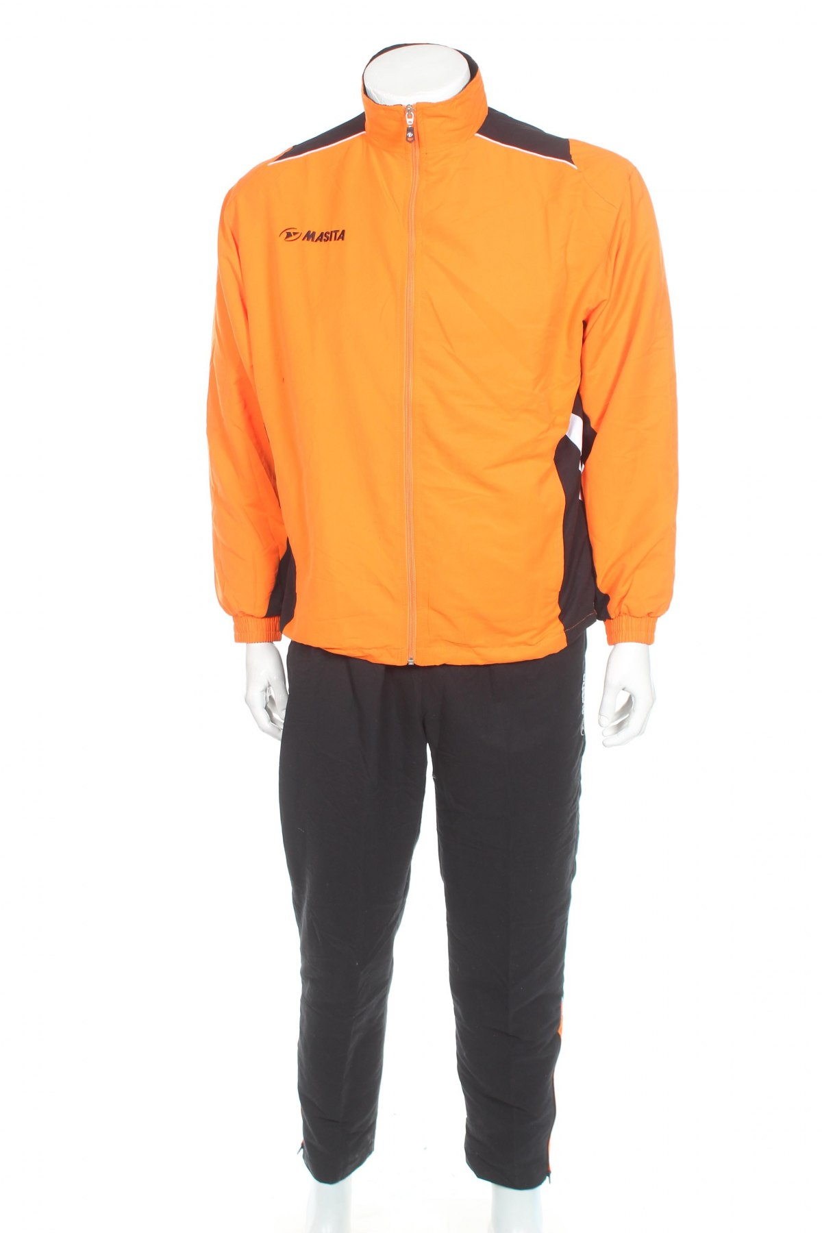Мъжки спортен комплект Masita, Размер S, Цвят Черен, Полиестер, Цена 28,80лв.