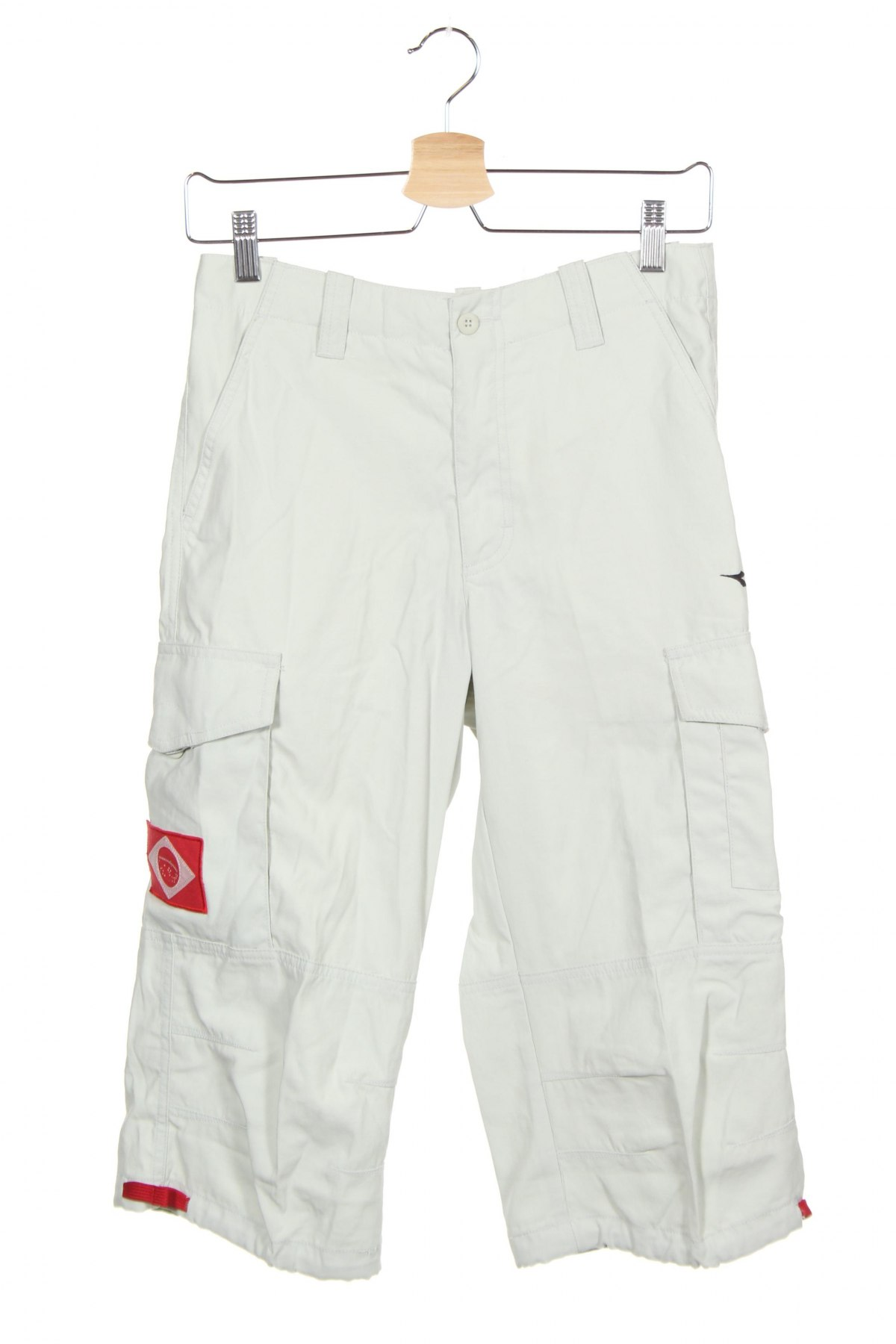 Мъжки спортен панталон Diadora, Размер S, Цвят Сив, Полиамид, Цена 14,70лв.