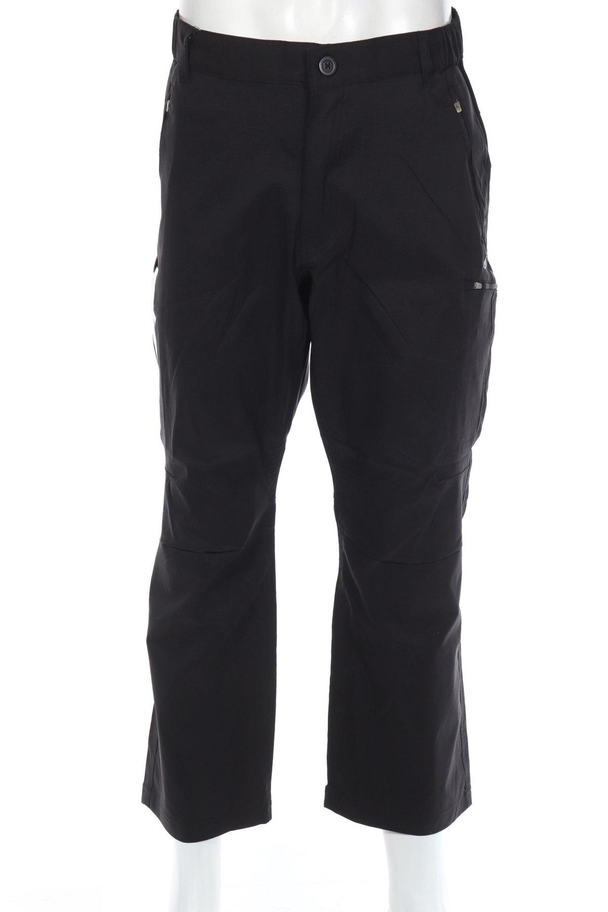 Мъжки спортен панталон Graghoppers, Размер L, Цвят Черен, 96% полиамид, 4% еластан, Цена 23,70лв.