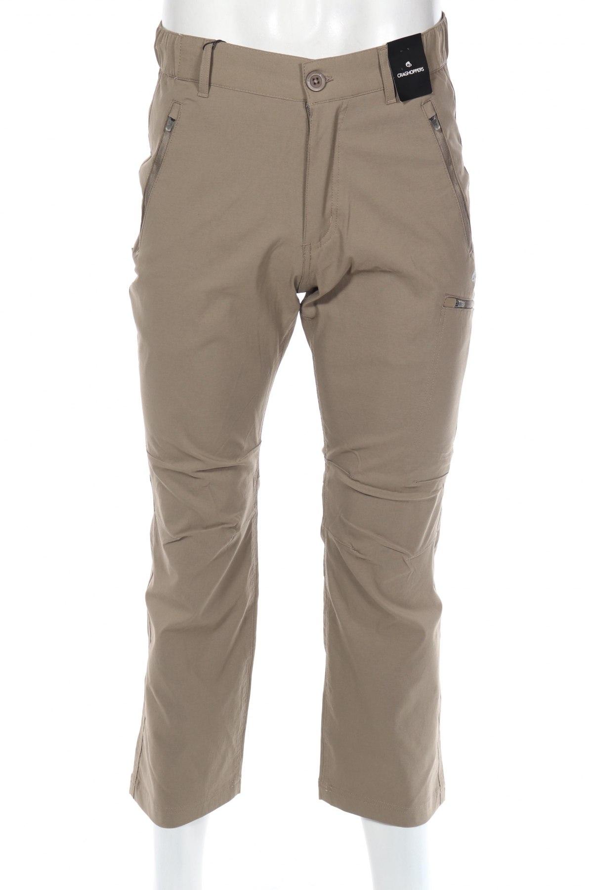 Мъжки спортен панталон Graghoppers, Размер S, Цвят Кафяв, 96% полиамид, 4% еластан, Цена 31,60лв.
