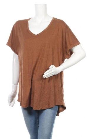 Γυναικεία μπλούζα Anko, Μέγεθος XXL, Χρώμα Καφέ, 50% βαμβάκι, 50% μοντάλ, Τιμή 11,11€