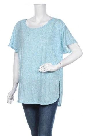 Γυναικεία μπλούζα Anko, Μέγεθος XXL, Χρώμα Μπλέ, 85% πολυεστέρας, 15% λινό, Τιμή 9,74€