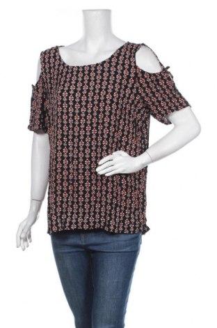 Γυναικεία μπλούζα Rockmans, Μέγεθος XXL, Χρώμα Πολύχρωμο, Βισκόζη, Τιμή 12,34€