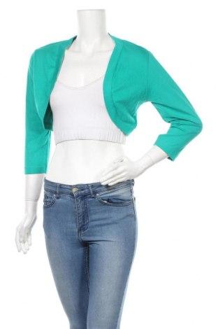 Болеро Flame, Размер L, Цвят Зелен, 50% памук, 50% модал, Цена 5,51лв.