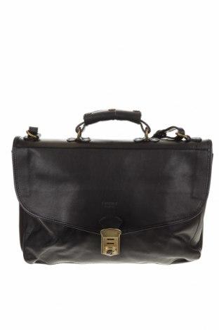 Τσάντα I Medici, Χρώμα Μαύρο, Γνήσιο δέρμα, Τιμή 138,85€