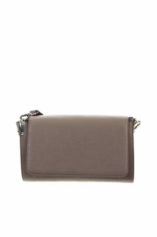 Чанта за кръст Hallhuber, Цвят Сив, Еко кожа, Цена 35,28лв.