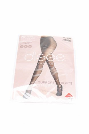 Чорапогащи, Размер XL, Цвят Бежов, 85% полиамид, 15% еластан, Цена 20,67лв.