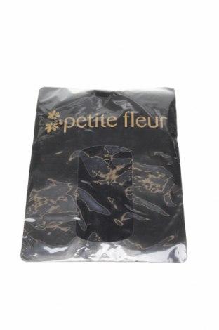 Чорапогащи Petite Fleur, Размер M, Цвят Черен, 87% полиамид, 13% еластан, Цена 19,08лв.