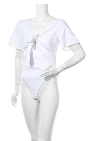 Γυναικεία μπλούζα-Κορμάκι Abercrombie & Fitch, Μέγεθος M, Χρώμα Λευκό, 55% λινό, 45% βισκόζη, Τιμή 24,74€