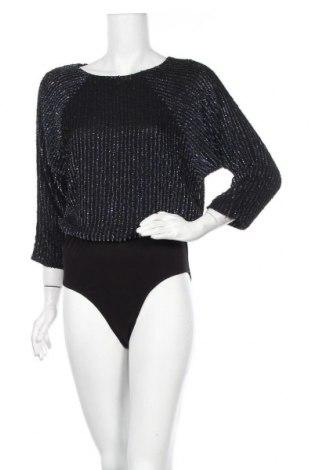 Γυναικεία μπλούζα-Κορμάκι Biba, Μέγεθος M, Χρώμα Μπλέ, 95% πολυεστέρας, 5% ελαστάνη, Τιμή 17,78€