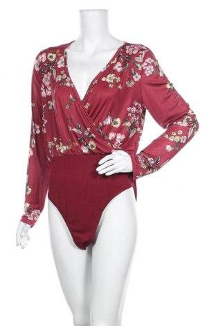 Γυναικεία μπλούζα-Κορμάκι Boohoo, Μέγεθος XL, Χρώμα Ρόζ , 95% πολυεστέρας, 5% ελαστάνη, Τιμή 18,84€