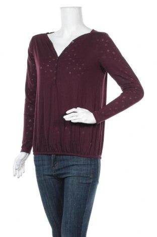 Дамска блуза 17 & Co., Размер S, Цвят Червен, 65% полиестер, 35% памук, Цена 10,40лв.