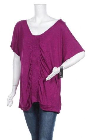 Γυναικεία μπλούζα A.N.A., Μέγεθος XL, Χρώμα Βιολετί, Βισκόζη, Τιμή 10,07€