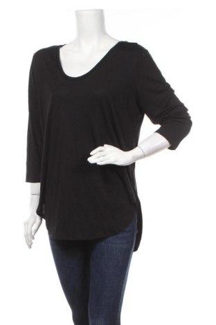Γυναικεία μπλούζα A.N.A., Μέγεθος XL, Χρώμα Μαύρο, 70% βισκόζη, 30% πολυεστέρας, Τιμή 9,94€
