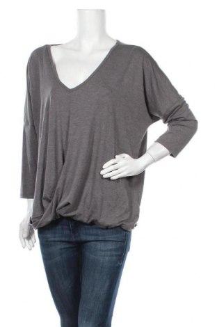 Γυναικεία μπλούζα A.N.A., Μέγεθος XXL, Χρώμα Γκρί, 62% πολυεστέρας, 33% βισκόζη, 5% ελαστάνη, Τιμή 9,38€