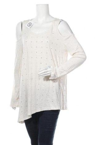 Γυναικεία μπλούζα A.N.A., Μέγεθος L, Χρώμα  Μπέζ, 60% βαμβάκι, 40% πολυεστέρας, Τιμή 8,18€