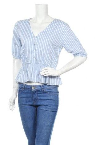 Γυναικεία μπλούζα About You, Μέγεθος S, Χρώμα Μπλέ, Βισκόζη, Τιμή 11,06€