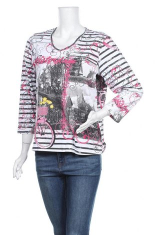 Γυναικεία μπλούζα Alia, Μέγεθος L, Χρώμα Πολύχρωμο, 60% βαμβάκι, 40% πολυεστέρας, Τιμή 10,49€