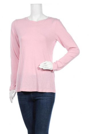 Дамска блуза Allison Brittney, Размер L, Цвят Розов, 57% памук, 38% полиестер, 5% еластан, Цена 15,02лв.