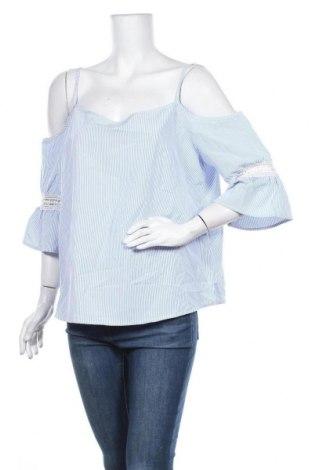 Γυναικεία μπλούζα Ally, Μέγεθος XL, Χρώμα Μπλέ, Πολυεστέρας, Τιμή 9,87€