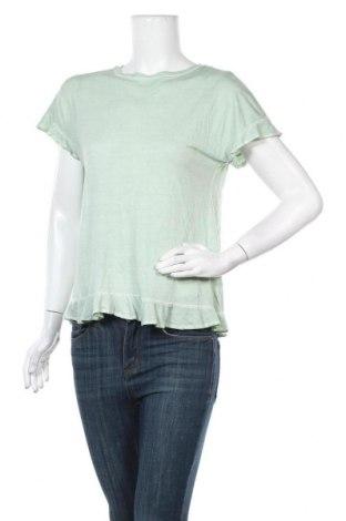 Дамска блуза Alya, Размер XS, Цвят Зелен, 075% вискоза, 25% полиестер, Цена 19,53лв.