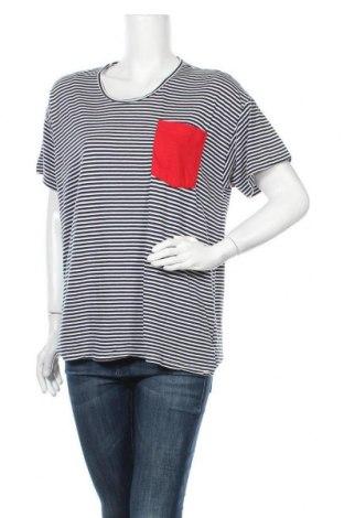 Γυναικεία μπλούζα American Apparel, Μέγεθος XXL, Χρώμα Μπλέ, 56% βαμβάκι, 44% βισκόζη, Τιμή 9,94€