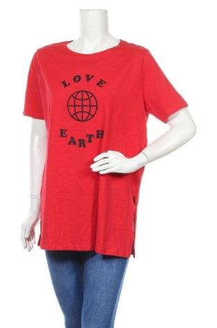 Γυναικεία μπλούζα Aniston, Μέγεθος L, Χρώμα Κόκκινο, Βαμβάκι, Τιμή 12,06€