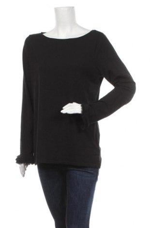 Γυναικεία μπλούζα Ann Taylor, Μέγεθος XL, Χρώμα Μαύρο, 56% βαμβάκι, 38% μοντάλ, 6% ελαστάνη, Τιμή 19,74€