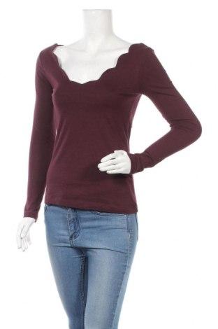Дамска блуза Anna Field, Размер S, Цвят Лилав, Памук, модал, Цена 15,30лв.